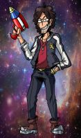 Space Danny by captain-garchomp