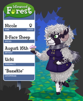 Idlewood Forest App: Nicole by Thalateya