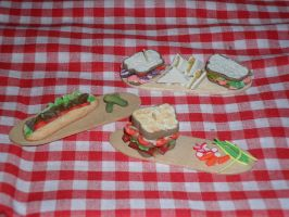 Sandwiches Challenge by kayanah