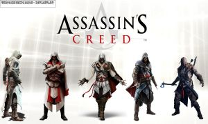 Assassin's Creed - Wallpaper by TheCosmicExplosion
