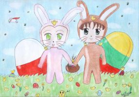 APH - Happy Easter by Yugi-Muraki