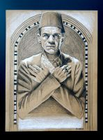 Boris Karloff as The Mummy by sarahwilkinson