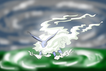 Pokemon SSh and MGl - Galeon, the Living Storm by phoenixn91
