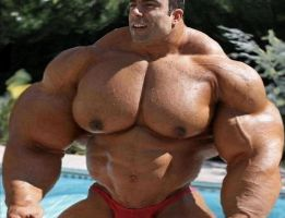 Muscle at the Pool - Bigger 2 by n-o-n-a-m-e