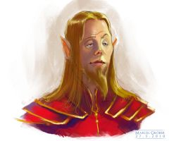 Elf dude speedy by MarschelArts