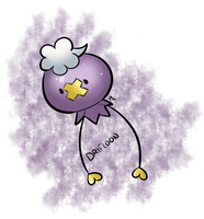 Day 8 - Ghost - Drifloon by Jhordee