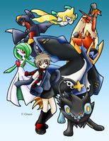 :Pokemon Team: by Illusion-TheMagician