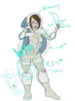 ice age nidalee 1 by Kyzzen