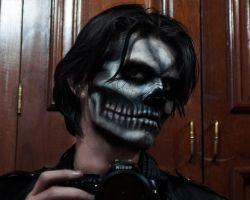 skull make-up2 by JSarkany