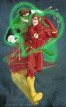 Flash Greenade Valentine's Day by DeanGrayson