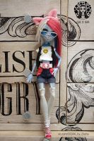 Monster High Abbey OOAK by Diuha