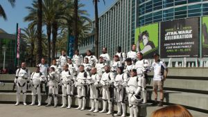 501st Legion Troopers at Star Wars Celebration by trivto