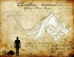 Chiroptera draconus by BlueCea