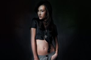 Maggie Q 2 by tom3k21