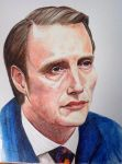 Hannibal watercolour by SheenaBeresford