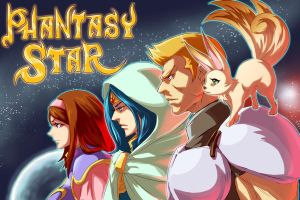 Phantasy star 1 by kamiomutsu