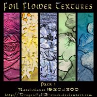 Foil Flower Textures Pack 1 by BFstock