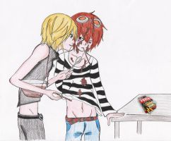 MxM Cure for Cooties by bettinaminamino