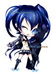 Keychains: Black Rock Shooter by CosmicSpectrumm