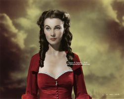 Scarlett O'Hara in color by glimmeringlight