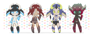 | Adoptables 006 | Open | NightSprites by iEatMudkipz