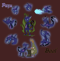 Pazu and Baal by Anastas-C