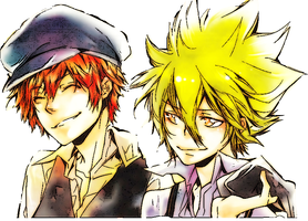Vongola and Simon Primo by JGumapas