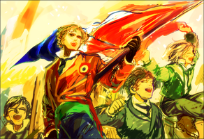 Les Miserables by SnowSheepSleep