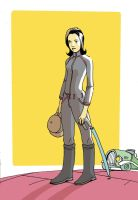 Emma Peel by royalboiler