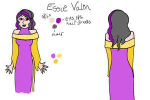 The Reference Project 1: Essie Valin by AngelAndChangeling