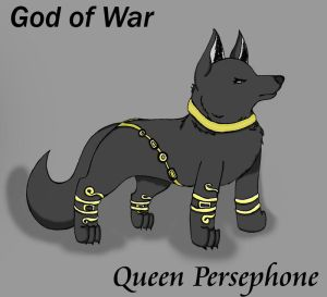 Queen Persephone - Wolf Form