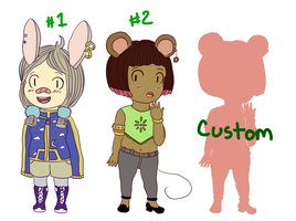 80 Point Adopts and Customs (1/3 open) by Pepperjack-Kiwi