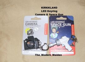 Kikkerland Camera and Space Gun by The-Modern-Maiden