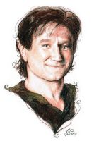 Peter Pan - Robin Williams by Nadschi