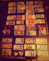 Money collection! by Hiromi415