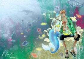 Under the sea - for MusiKasette by MelliShu