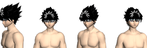 hiei remade wip by GAME-ART-EDITED-ART