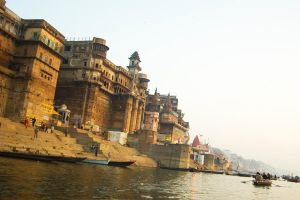 Varanasi. On the Ganges by nerveZero