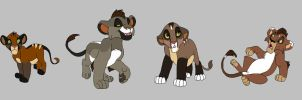 cub adopts by naimassparrow101