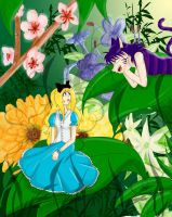 Alice in Wonderland by alsonata27
