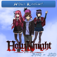 Holy Knight ICO, PNG & Folder by bryan1213
