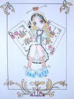 Alice In Wonderland by sythearts