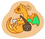 Dragonite Sticker Design by LunaNightSky