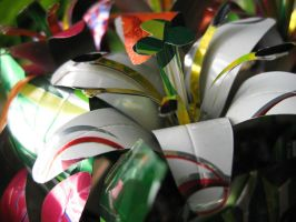 Recycled Soda Can Lily Group4 by Christine-Eige