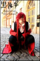 Hello, my name is Grell by YakuzaProduction