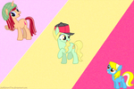 Candy Mares by JubilationTree