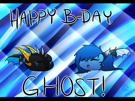 Happy Bday Ghost! by WinterTheDragoness