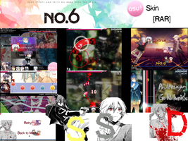 No. 6 Osu! Skin [RAR] by Allen-WalkerDGrayMan