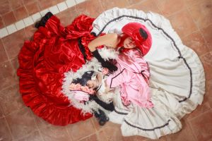 Madam Red and Lady Ciel Cosplay by firecloak