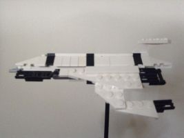 Lego SR1 Normandy side on by Gracedmarcus